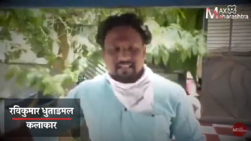 A student from NSD is selling vegetables in Beed city of maharashtra due to lockdown